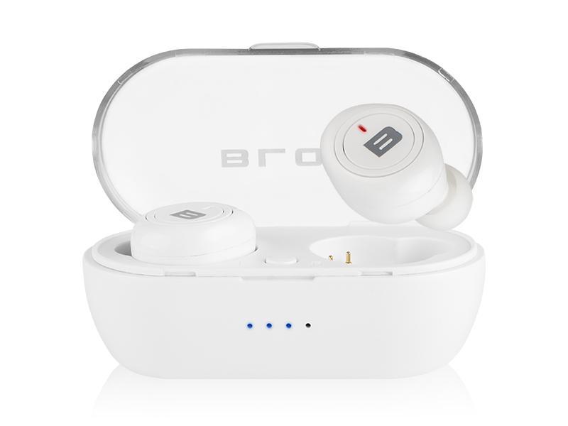 Sluchátka BLOW Bluetooth Earbuds BTE100 WHITE